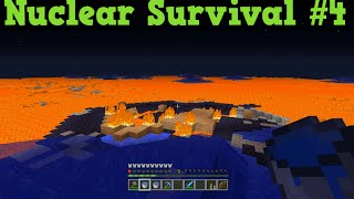 Minecraft Xbox One / PS4 - Nuclear Wasteland Superflat Survival #4 LIVE
