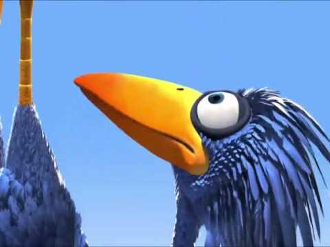 Corto de Disney  los pajaros y la grulla monstruos video de prueba