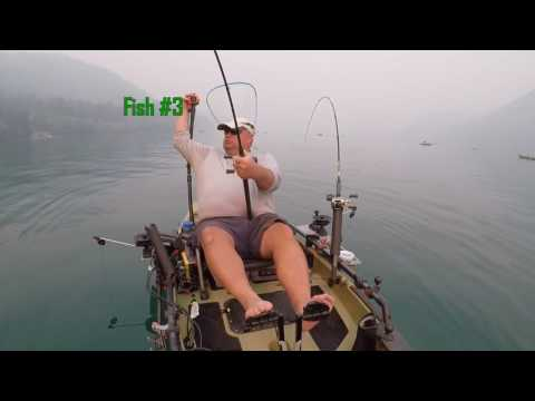 Sockeye Fishing Baker Lake On A Hobie PA14