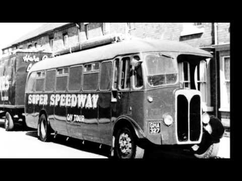 OLD BUSES & COACHES on the Fairgrounds - 1930's to 1970's        .wmv