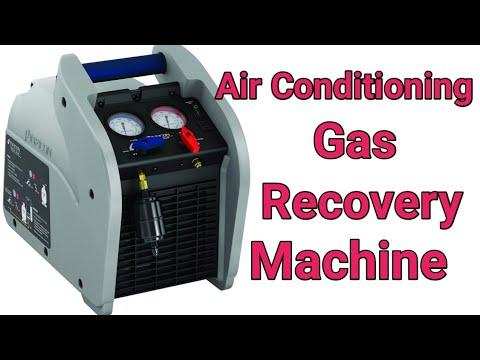 Refrigerant recovery machine Hindi