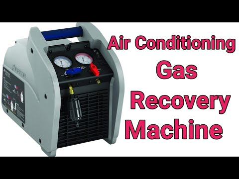 Refrigerant Recovery Machine Hindi