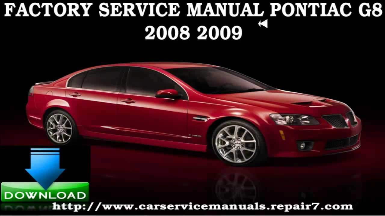 Pontiac g8 2008 2009 service repair manual youtube pontiac g8 2008 2009 service repair manual sciox Image collections
