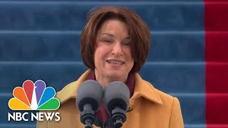 Sen. Klobuchar Delivers Opening Remarks For Biden's Inauguration | NBC News
