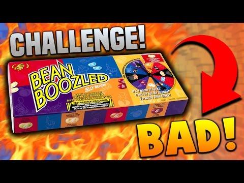 BEAN BOOZLED CHALLENGE! (WORST IDEA EVER)