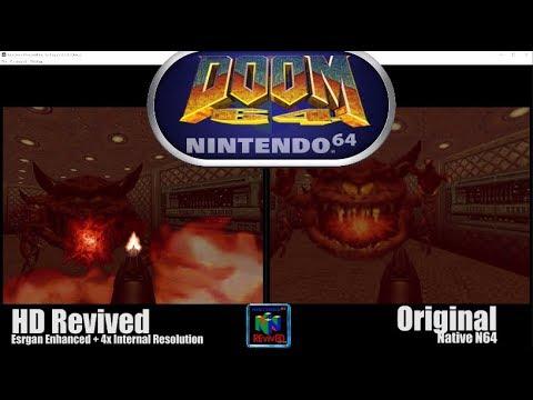 Doom 64 и Quake 64 получили улучшенные HD текстуры благодаря искусственному интеллекту