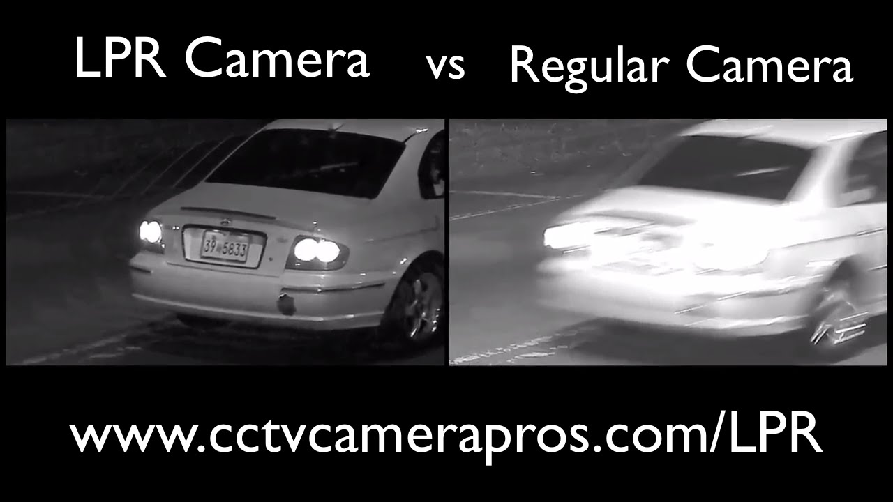 License Plate Camera >> License Plate Camera Vs Non Lpr Security Camera Youtube