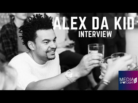 Alex Da Kid on quitting Football, Eminem, Skylar Grey, Rihanna (part 1): Media Spotlight UK