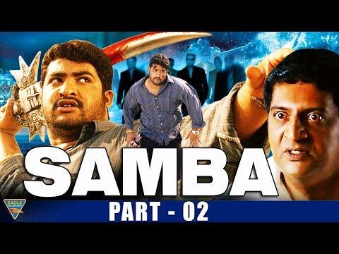 Samba Hindi Dubbed Movie Part 2 | NTR, Bhoomika, Genelia D'Souza | Eagle Entertainment Official