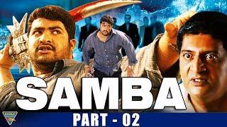 Samba Hindi Dubbed Movie Part 2   NTR, Bhoomika, Genelia D'Souza   Eagle Entertainment Official