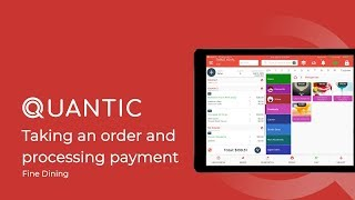 Welcome to quantic pos for restaurants. is an ios and android based multi-channel solution. in this video we will run through a few tips on h...