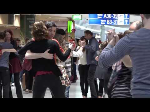 TANGO Flashmob @ Athens International Airport St.Valentines Day