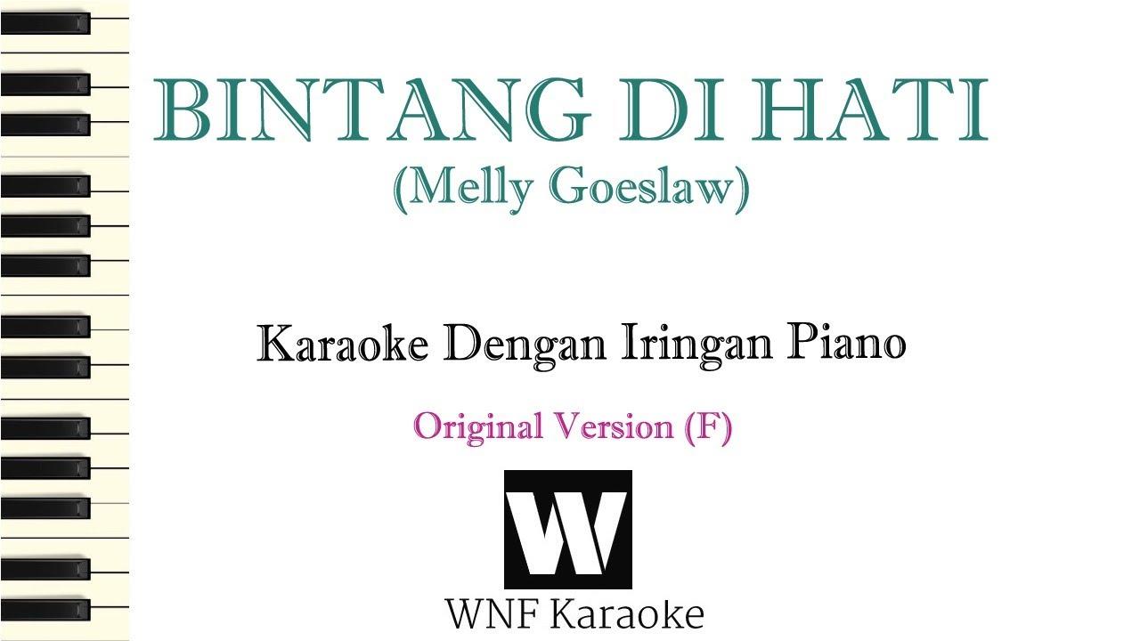 Bintang Dihati Melly Goeslaw Ost Samudra Cinta Sctv Bintang Dihati Karaoke Piano Cover Youtube
