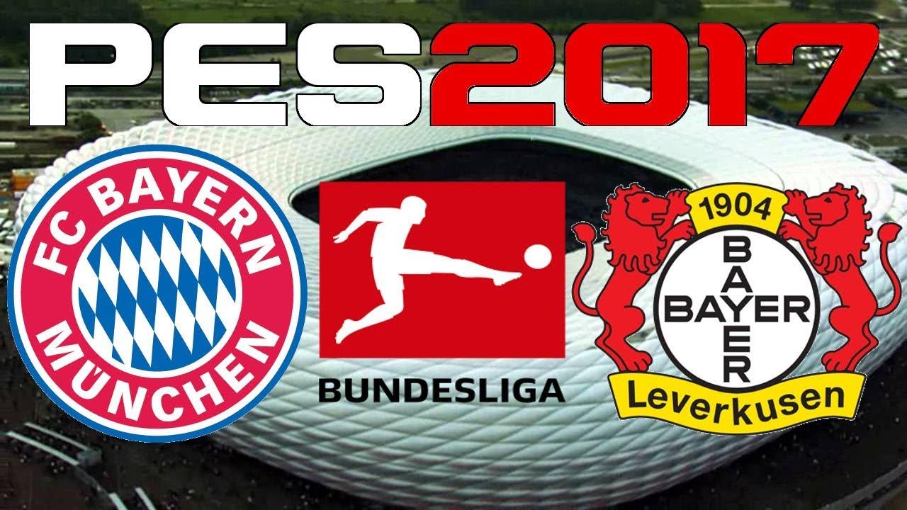 Pes  Bundesliga Bayern Munich Vs Bayer Leverkusen
