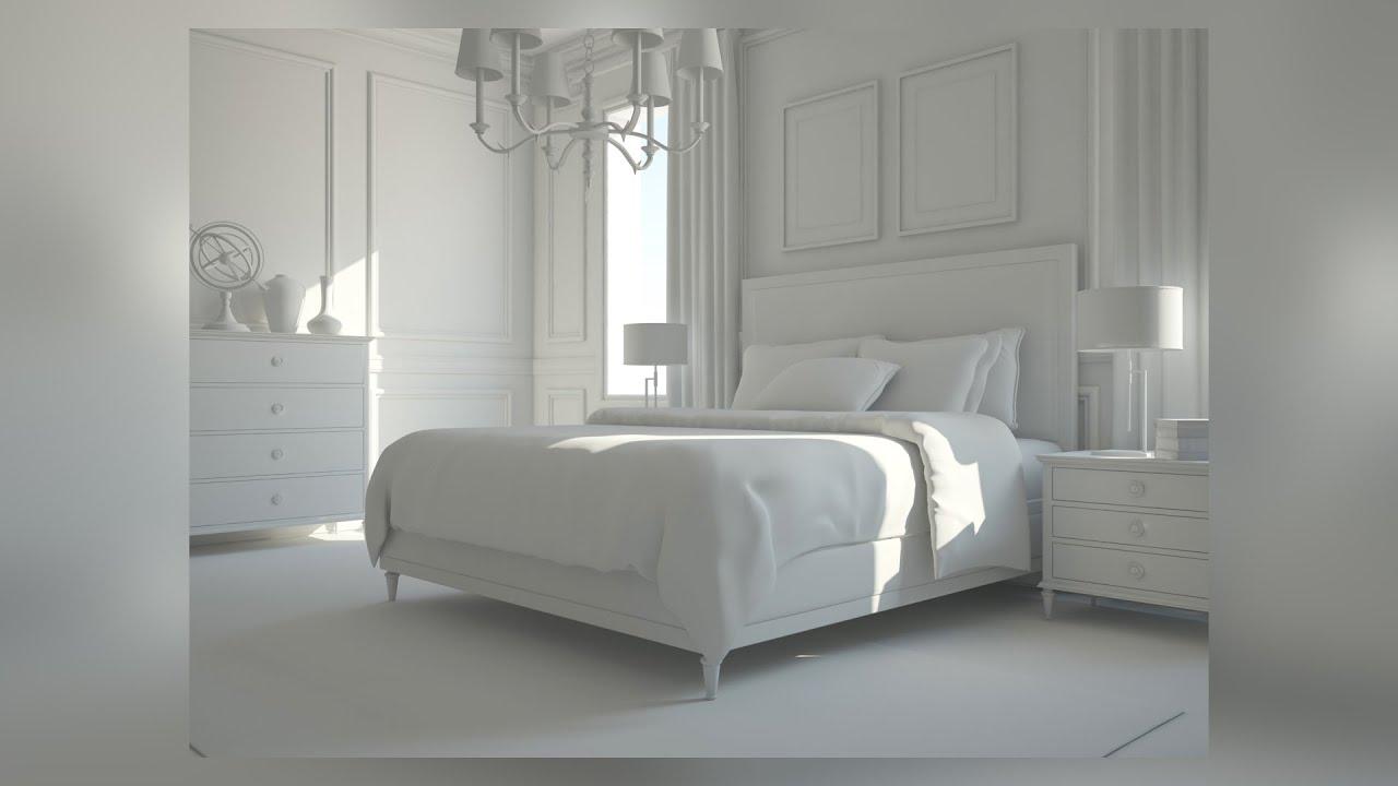 tutorial interior lighting and scene optimization in vrayforc4d v ray for cinema 4d. Black Bedroom Furniture Sets. Home Design Ideas