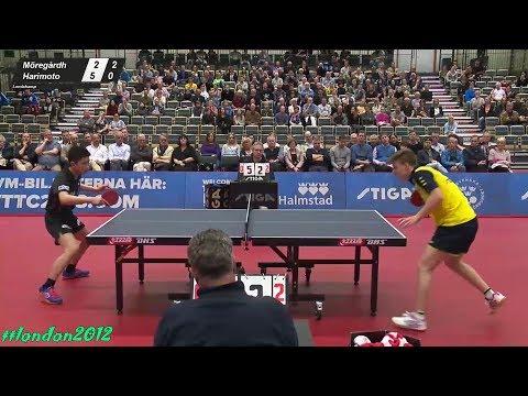 Truls Moregardh vs Tomokazu Harimoto (2018 WTTTC Preparing Match)