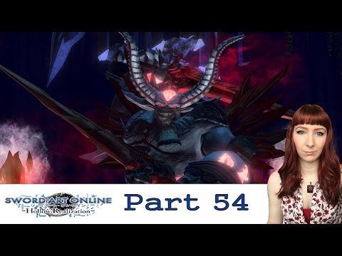 Grimm The Provident- Sword Art Online: Hollow Realization PS Vita PS4 Let's Play Walkthrough Part 54