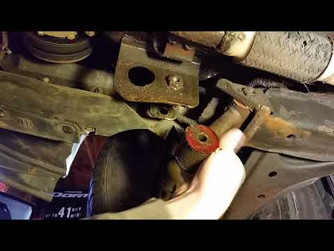 How To: 95 - 05 Chevy Cavalier Lower Engine Mount Replacement