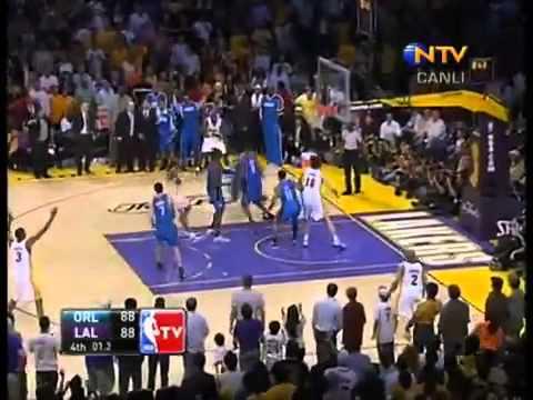 Hidayet Türkoğlu'nun 2009 NBA Finali 2. Maçındaki Tüm Sayıları