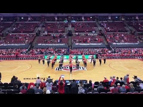 2018 Ohio State Dance Team Alumni Performance (2.4.18)