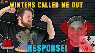 @winters SEO called me out... - RESPONSE!!! | I am a Wargamer | Coffee Time