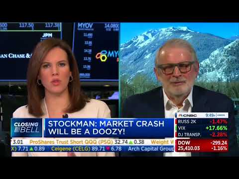 Stockman on Jerome Powell Dismissing Recession Concerns: 'He's Missing Three Giant Skunks'