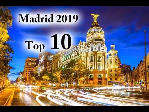 Madrid Spain - Best City Break - Top 10 Attractions - HD