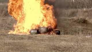 Взрыв натяжных потолков  Безопасные газовые баллоны Видео(, 2014-03-13T08:28:56.000Z)