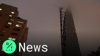 Crane Spins Out of Control in New York City Atop 85-Story Skyscraper