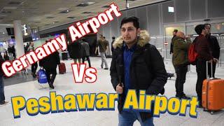 Frankfurt Airport Germany vs peshawar airport