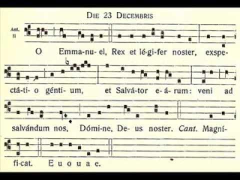 O Emmanuel - December 23