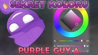 Five Nights At Freddy's 4 - SEKRET KOLORU PURPLE GUY'A