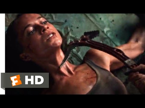 Tomb Raider (2018) - The Final Fight Scene (9/10) | Movieclips