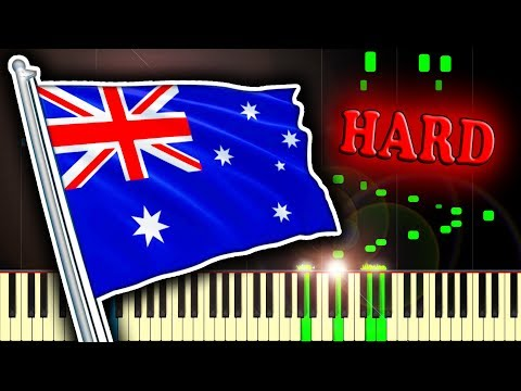 ADVANCE AUSTRALIA FAIR - AUSTRALIAN NATIONAL ANTHEM - Piano Tutorial