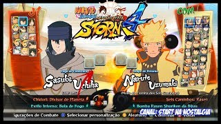 Naruto Shippuden Ultimate Ninja Storm 4 - LISTA de TODOS OS PERSONAGENS / ALL CHARACTERS 1444p