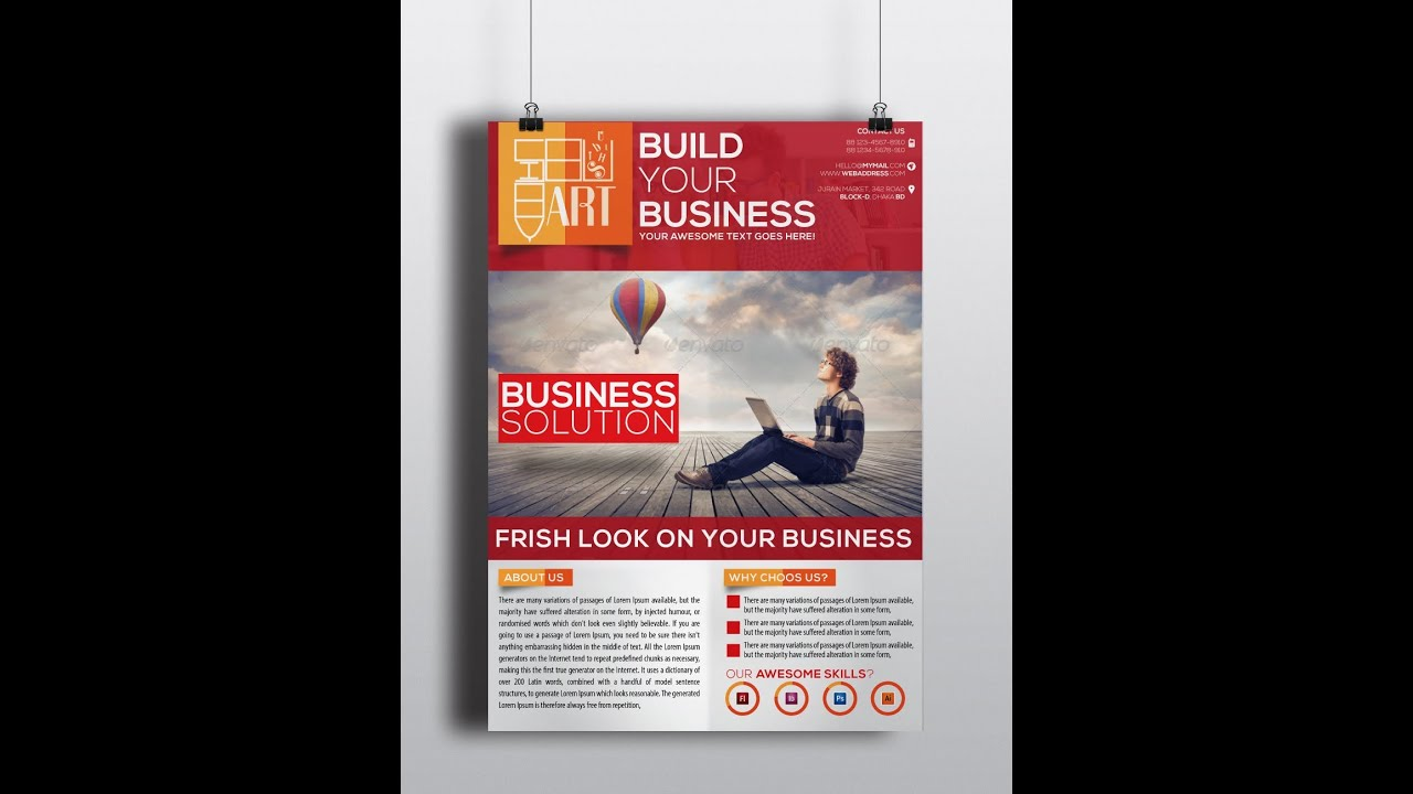 how to create a corporate business flyer how to create a corporate business flyer