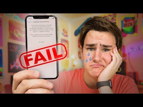 Thumbnail: My $1100 iPhone X Fail...