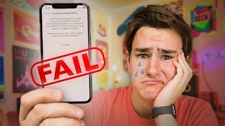 My $1100 iPhone X Fail...