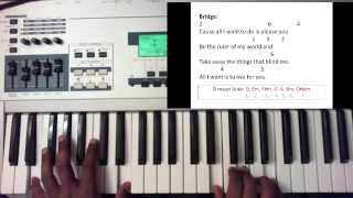 Consuming Fire (Fuego De Dios) Christ for the Nations (Piano Tutorial)