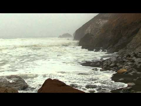 "Stormy Sea 60mins ""Natural Wave Sounds"""