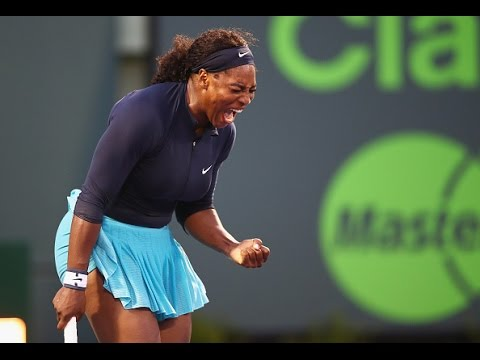 Miami Open Second Round | Serena Williams vs Christina McHale | WTA Highlights