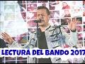 Martín Elías & Rolando Ochoa - Lectura del Bando 2017 - COMPLETO