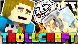Minecraft | ALFRED BURNING IN LAVA TROLL?! - Troll Craft