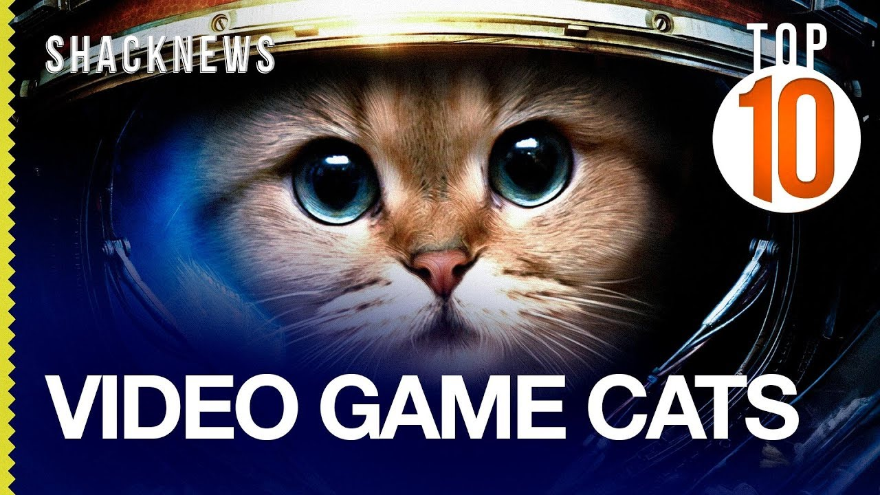 Top 10 Video Game Cats Youtube