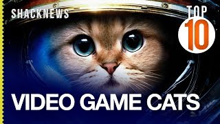 Top 10 Video Game Cats