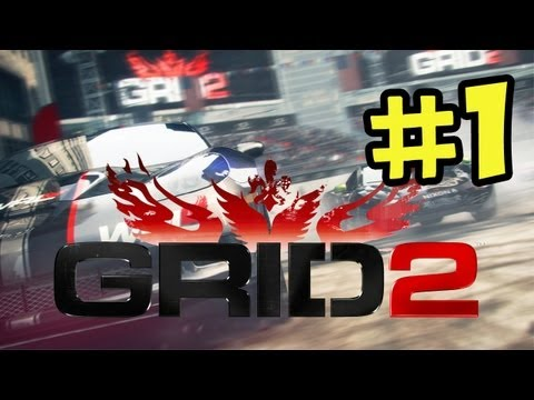 Grid 2 - Walkthrough Part 1 - Single Player (World Series Racing) PC Xbox PS3