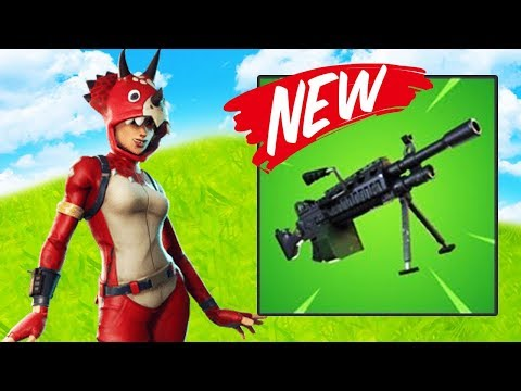 2 BUSES?! 50 vs 50 PLUS NEW GUN! (Light Machine Gun) | Fortnite NEW Update