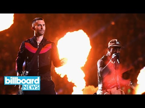 Maroon 5, Travis Scott and Big Boi Deliver Fiery Super Bowl LIII Halftime Show | Billboard News Mp3
