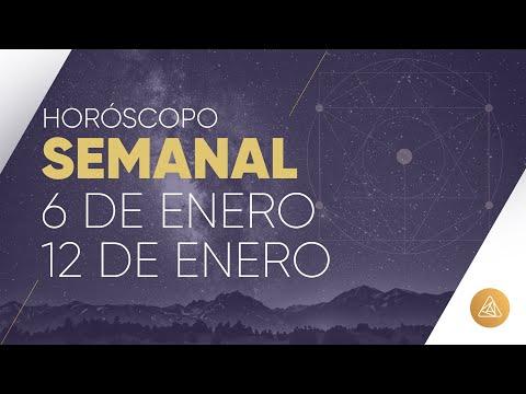 HOROSCOPO SEMANAL | 6 AL 12 DE ENERO | ALFONSO LEÓN ARQUITECTO DE SUEÑOS