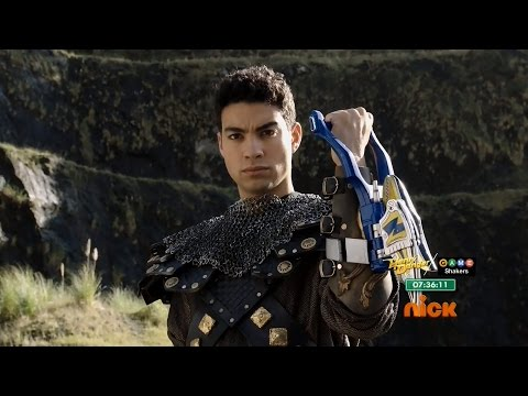 Gold Ranger First Morph in Power Rangers Dino Charge